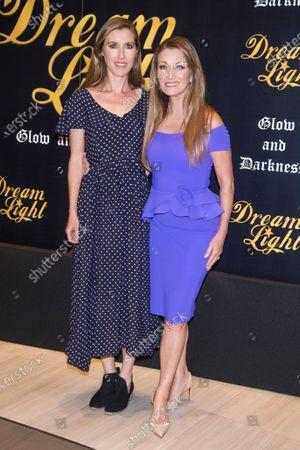 Katherine Flynn and Jane Seymour