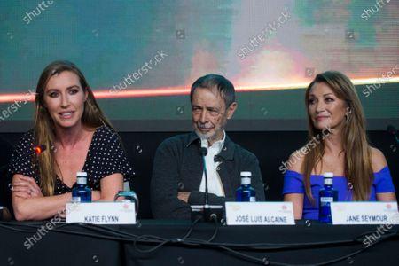 Katherine Flynn, Jose Luis Alcaine and Jane Seymour