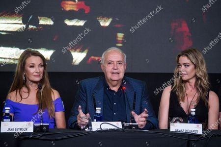 Jane Seymour, Jose Luis Moreno and Denise Richards