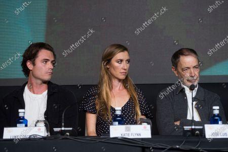 Luke Cosgrove, Katherine Flynn and Jose Luis Alcaine
