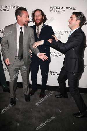 Adam Sandler, Joshua Safdie and Ben Safdie