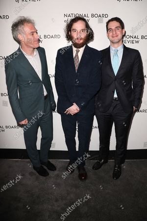 Ronald Bronstein, Joshua Safdie and Ben Safdie