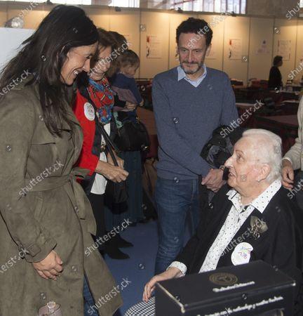 Infanta Pilar and Begona Villacis