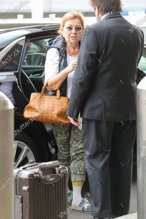 Editorial picture of Roseanne Barr at LAX International Airport, Los Angeles, USA - 08 Jan 2020