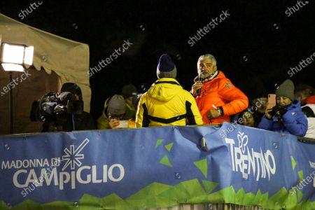 Editorial image of FIS AUDI World Cup, Night Men Slalom, Skiing, 3tre Madonna di Campiglio, of Italyly - 08 Jan 2020