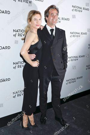Stock Photo of Renee Zellweger and Rupert Goold