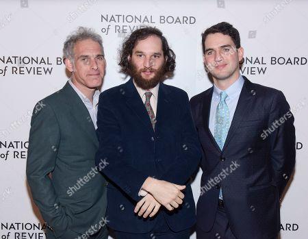 Ronald Bronstein, Joshua Safdie and Ben Safdie