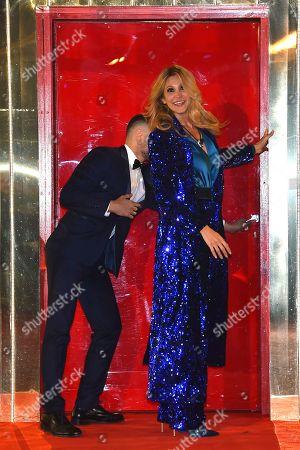 Editorial image of 'Grande Fratello VIP' TV show, Rome, Italy - 08 Jan 2020