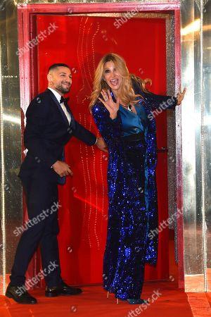 Editorial photo of 'Grande Fratello VIP' TV show, Rome, Italy - 08 Jan 2020