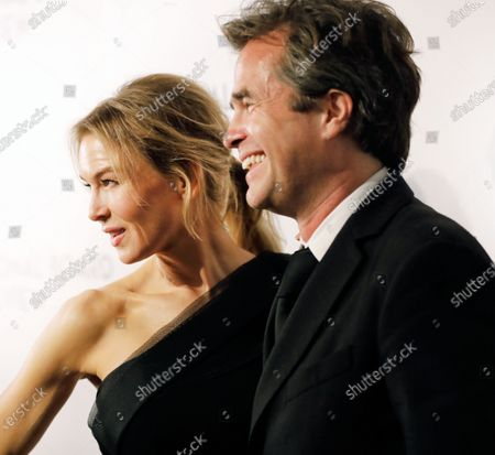Renee Zellweger (L) and British director Rupert Goold (R) attend The National Board of Review Annual Awards Gala at Cipriani 42nd Street in New York, New York, USA, 08 January 2020.