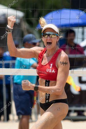 Editorial photo of FIVB Port Dickson Beach Open, Volleyball, Kuala Lumpur, Malaysia - 04 May 2019