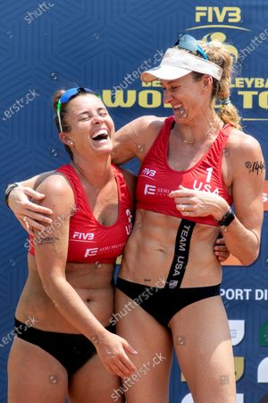 Editorial picture of FIVB Port Dickson Beach Open, Volleyball, Kuala Lumpur, Malaysia - 04 May 2019