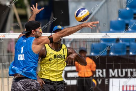 Editorial image of FIVB Port Dickson Beach Open, Volleyball, Kuala Lumpur, Malaysia - 02 May 2019