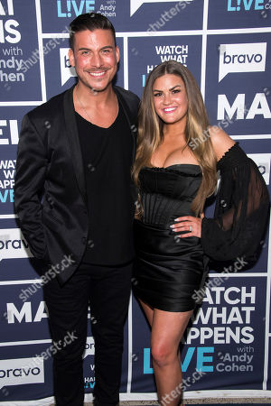 Watch What Happens Live With Andy Cohen - Season 16. WATCH WHAT HAPPENS LIVE WITH ANDY COHEN -- Episode 17003 -- Pictured: (l-r) Jax Taylor, Brittany Cartwright
