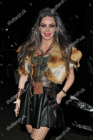Editorial photo of Natasha Grano's birthday party, The Mandrake Hotel, Newman Street, London, UK - 08 Jan 2020