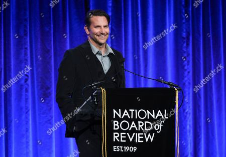 Bradley Cooper attends the National Board of Review Awards gala at Cipriani 42nd Street, in New York