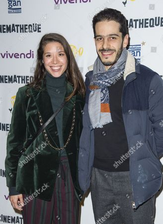 Editorial picture of Opening of the Jean-Luc Godard retrospective in tribute to Anna Karina, Paris, France - 08 Jan 2020