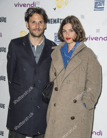 Stock Picture of Felix De Givry and Alma Jodorowsky