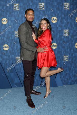 Stock Photo of Marcus Emanuel Mitchell and Christina Vidal