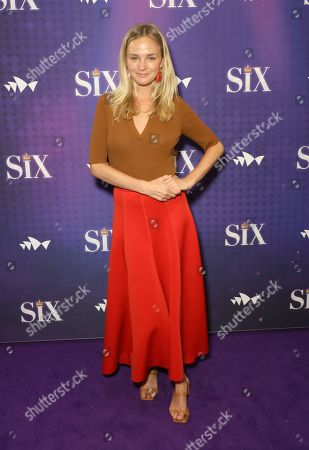 Editorial picture of 'SIX' musical, Arrivals, Sydney, Australia - 09 Jan 2020