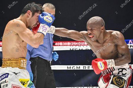 Editorial photo of Moruti Mthalane v Akira Yaegashi, IBF flyweight title bout, Boxing, Kanagawa, Japan - 23 Dec 2019