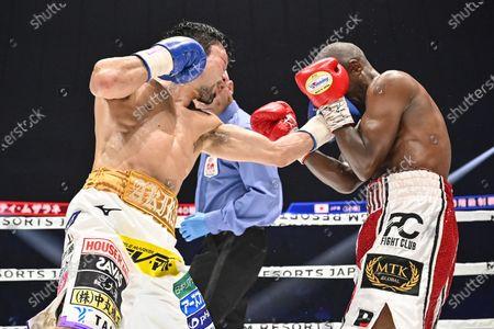Editorial image of Moruti Mthalane v Akira Yaegashi, IBF flyweight title bout, Boxing, Kanagawa, Japan - 23 Dec 2019
