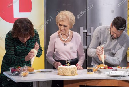 Lorraine Kelly, Mary Berry and Shayne Ward