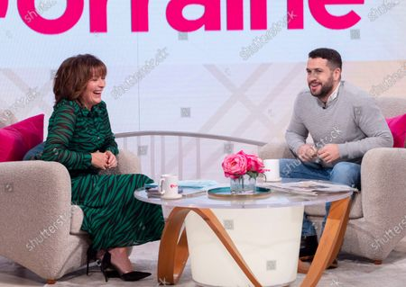 Lorraine Kelly and Shayne Ward