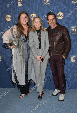 Camryn Manheim, Karey Burke and Dan Bucatinsky