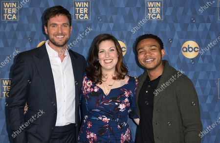 Stock Image of Owain Yeoman, Allison Tolman, Robert Bailey Jr.