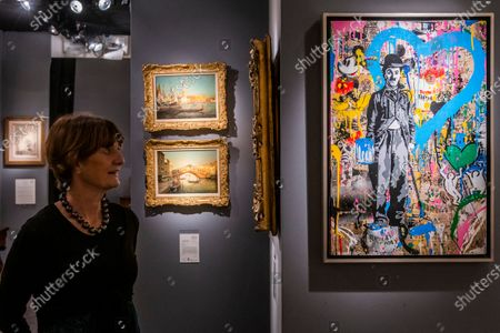TLife is Beautiful by Mr Brainwash, £29,850C, and other works on Haynes Fine Arts - he Mayfair Antiques & Fine Art Fair, London Marriott Hotel. It runs from Thursday 9 until Sunday 12 January 2020.