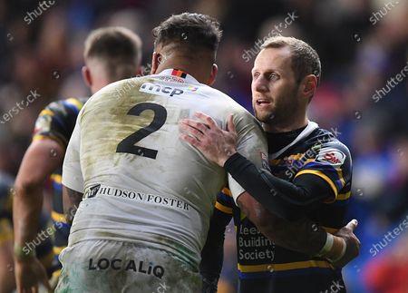 Editorial picture of Leeds Rhinos v Bradford Bulls, Jamie Jones-Buchanan Testimonial, Rugby League, Emerald Headingley Stadium, Yorkshire, UK - 12 Jan 2020