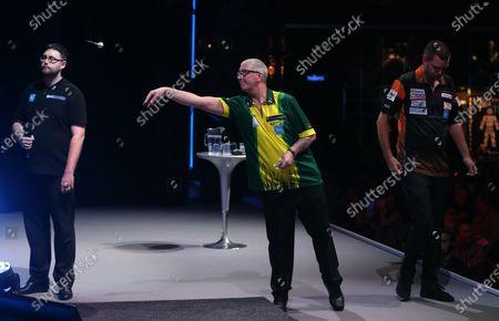Paul Hogan during the BDO World Professional Championships at the O2 Arena, London