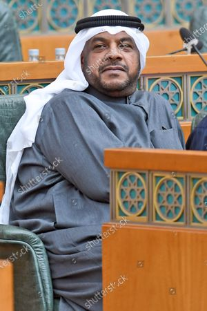 Kuwait's Defense Minister, Sheikh Ahmad Mansour Al-Ahmad Al-Sabah during a parliament session at Kuwait's national assembly in Kuwait City, 09 January 2020.