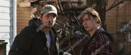 Josh Hartnett as Kip Riley and Chandler Riggs as Cooper