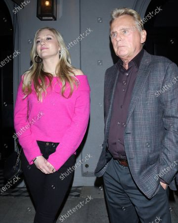 Maggie Sajak and Pat Sajak