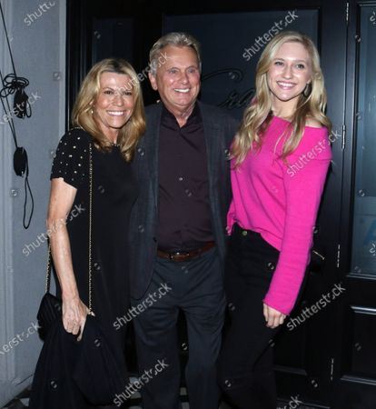Vanna White, Pat Sajak and Maggie Sajak