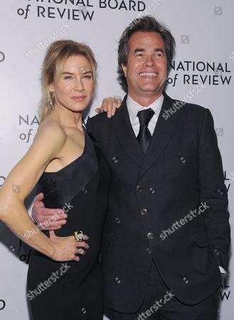 Stock Picture of Renee Zellweger and Rupert Goold