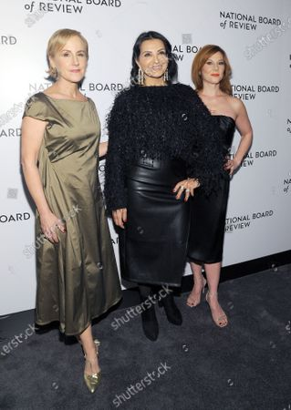 Welker White, Kathrine Narducci, and Stephanie Kurtzuba