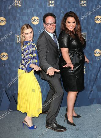 Stock Image of Meg Donnelly, Diedrich Bader and Katy Mixon