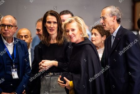 Sophie Wilmes and Princess Astrid