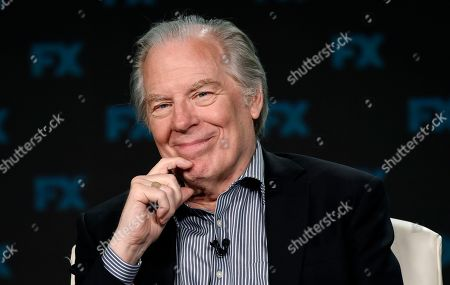 """Michael McKean, a guest star on the FX series """"Breeders,"""" takes part in a panel discussion on the show at the 2020 FX Networks Television Critics Association Winter Press Tour, in Pasadena, Calif"""