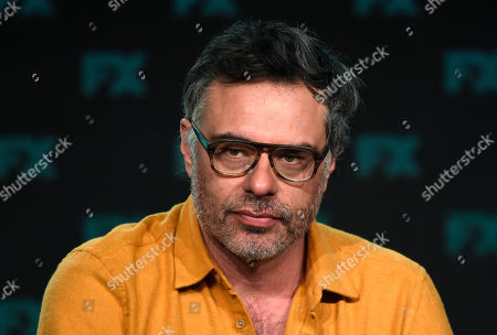"""Jemaine Clement, the creator/executive producer/director/writer of the FX series """"What We Do in the Shadows,"""" takes part in a panel discussion on the show at the 2020 FX Networks Television Critics Association Winter Press Tour, in Pasadena, Calif"""
