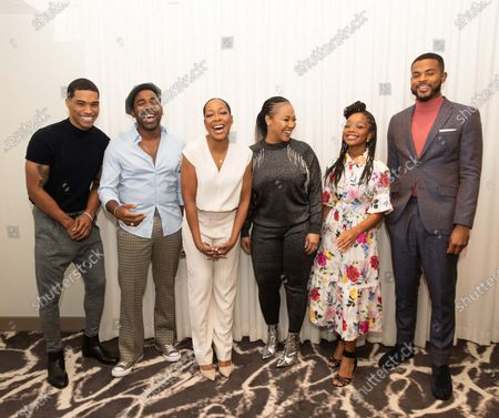 Editorial picture of  NAACP Image Awards press conference, Los Angeles, USA - 09 Jan 2020
