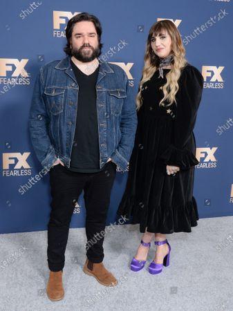 Matt Berry and Natasia Demetriou