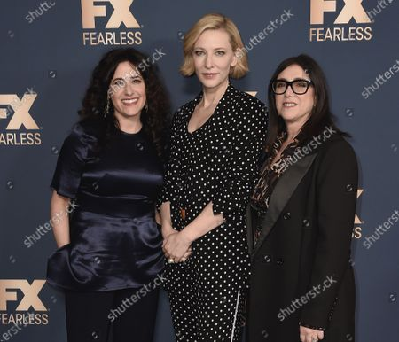 Dahvi Waller, Cate Blanchett and Stacey Sher