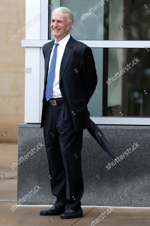 Stock Image of John Griffin, a former head of the Maryland Department of Natural Resources who also once worked as chief of staff to former Gov. Martin O'Malley, leaves the U.S. District Court in Greenbelt, Md., after a sentencing hearing for Tawanna Gaines, a former Maryland delegate, in Greenbelt. Gaines was sentenced to six months in prison followed by two months of home detention for misusing campaign funds for her personal benefit. U.S. District Judge Theodore Chuang also on Friday ordered Gaines to pay $22,565 in restitution