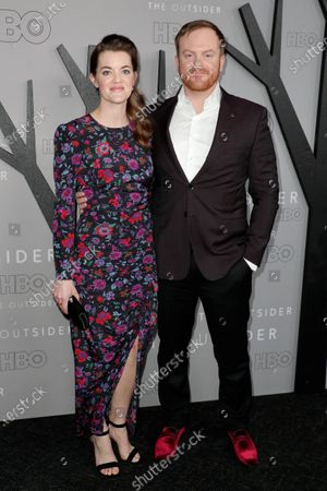 Rachel Whitney and Jeremy Bobb