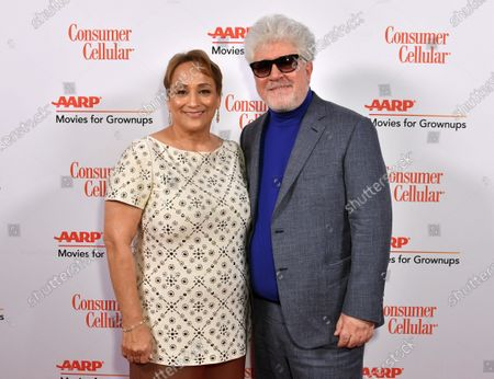 Jo Ann Jenkins and Pedro Almodovar
