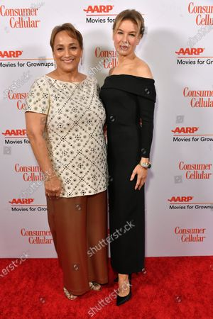 Jo Ann Jenkins and Renee Zellweger